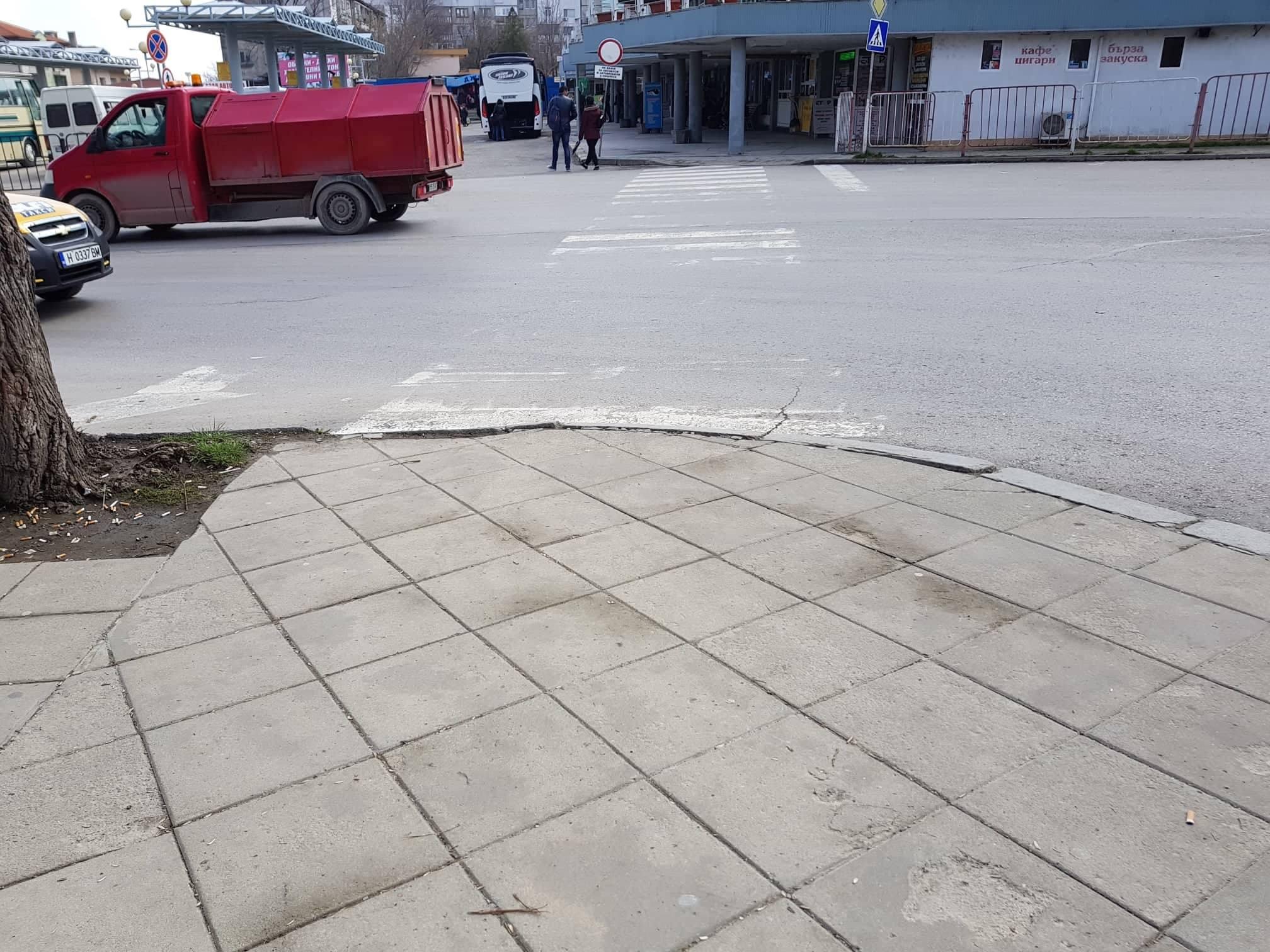 """От """"Да, България!"""" - Шумен настояваме за спешна рехабилитация на пешеходните пътеки в града"""