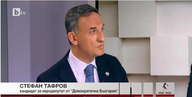 Стефан Тафров: Хората искат от нас резултати и аз съм готов да им ги дам