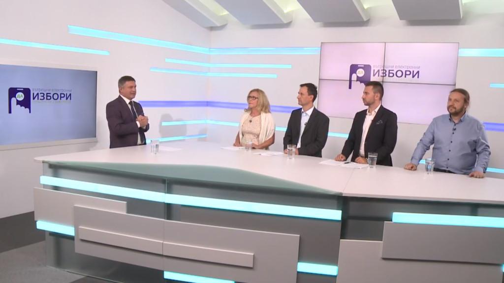 Пети дебат на кандидате за общински съветници в София на Да, България