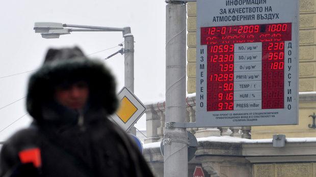 София бяга от задължението си да информира гражданите за качеството на въздуха