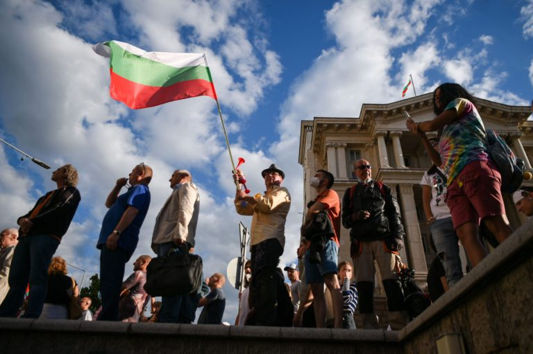 Borissov dumps 4 ministers as Bulgarian protests ramp up