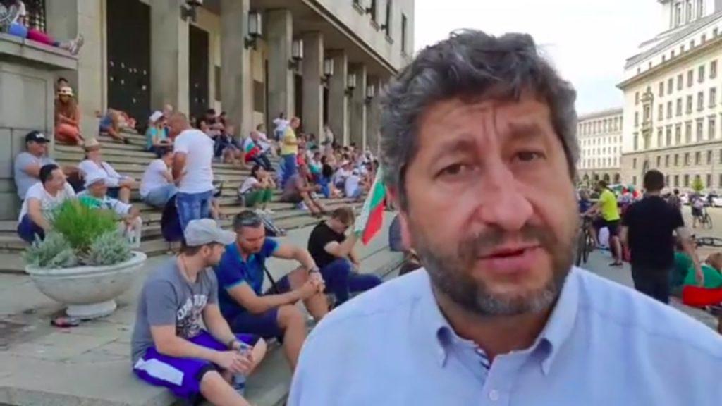 Христо Иванов: Протестът е борба на волите, която трябва да продължи