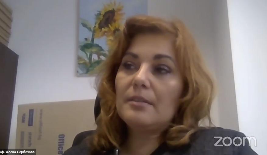 Проф. Сербезова пред Христо Иванов: Без е-здравеопазване не можем да управляваме процесите