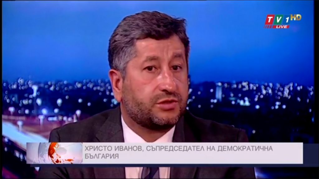 Христо Иванов: Средното име на Борисов е Хаос