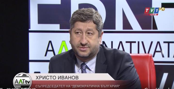 Христо Иванов: Борисов в зависимост ли е и от кого