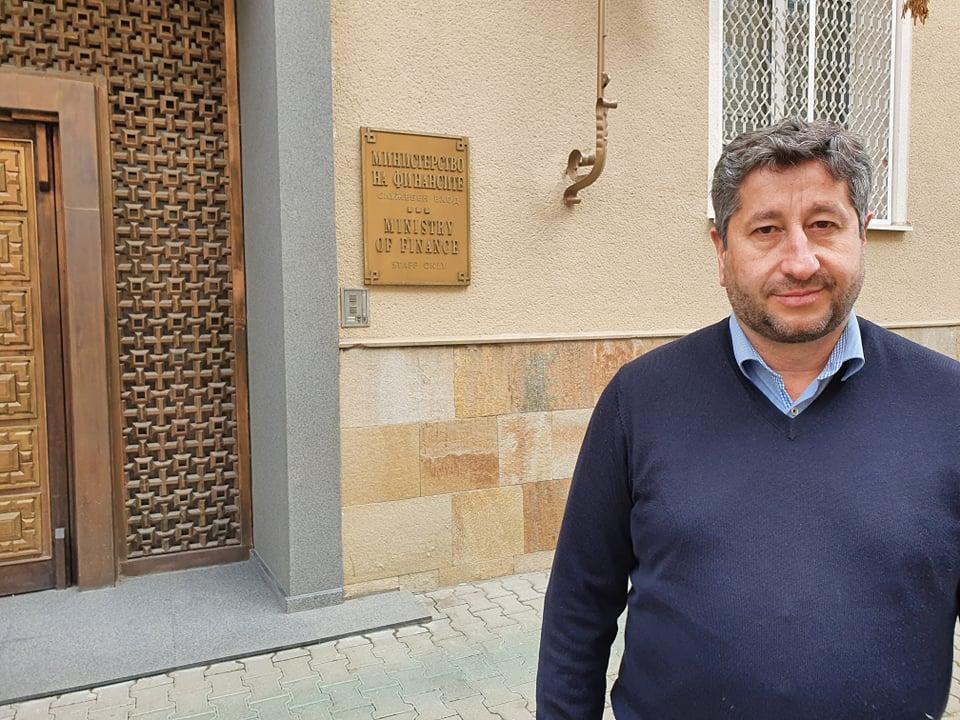 Христо Иванов: Искаме оставката на шефа на НАП, а със скандалните бонуси да се компенсира бизнесът