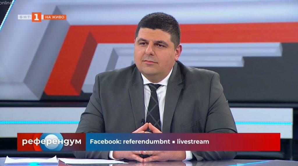 """Ивайло Мирчев в """"Референдум"""": Искаме мандат за управление за радикална модернизация на България"""