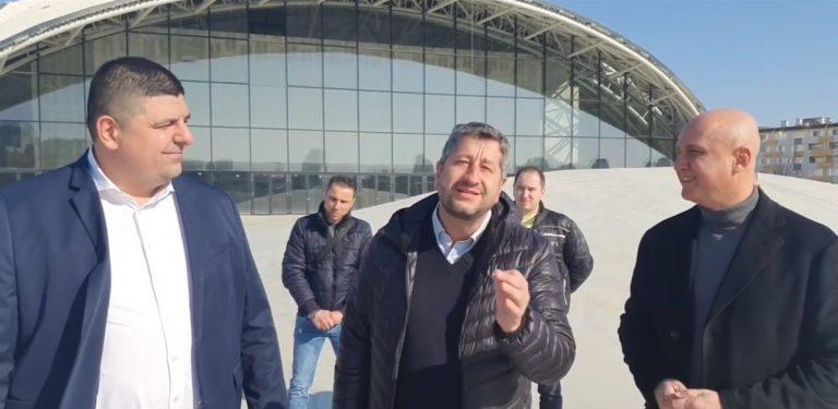 Христо Иванов: Арена Бургас е корупционното бижу на Борисов