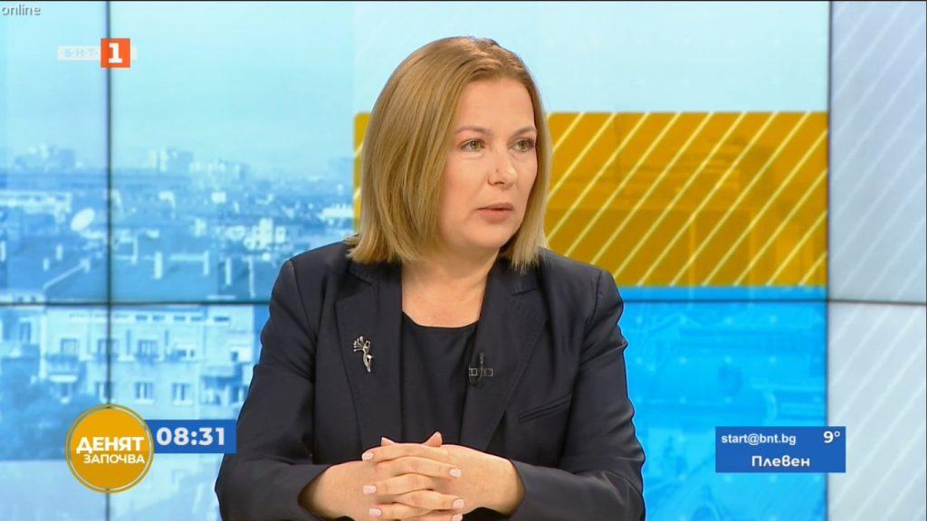 Надежда Йорданова пред БНТ