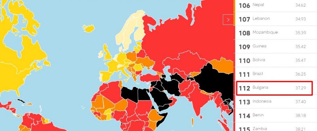 Оценката за свободата на словото у нас е огледало за дълбоката криза на правовия и демократичен ред