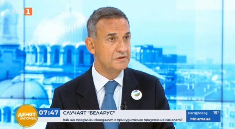 Стефан Тафров: България трябва да избягва сътрудничеството с режима в Беларус