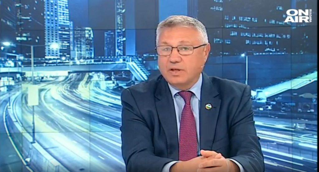 Велизар Шаламанов пред Bulgaria ON AIR