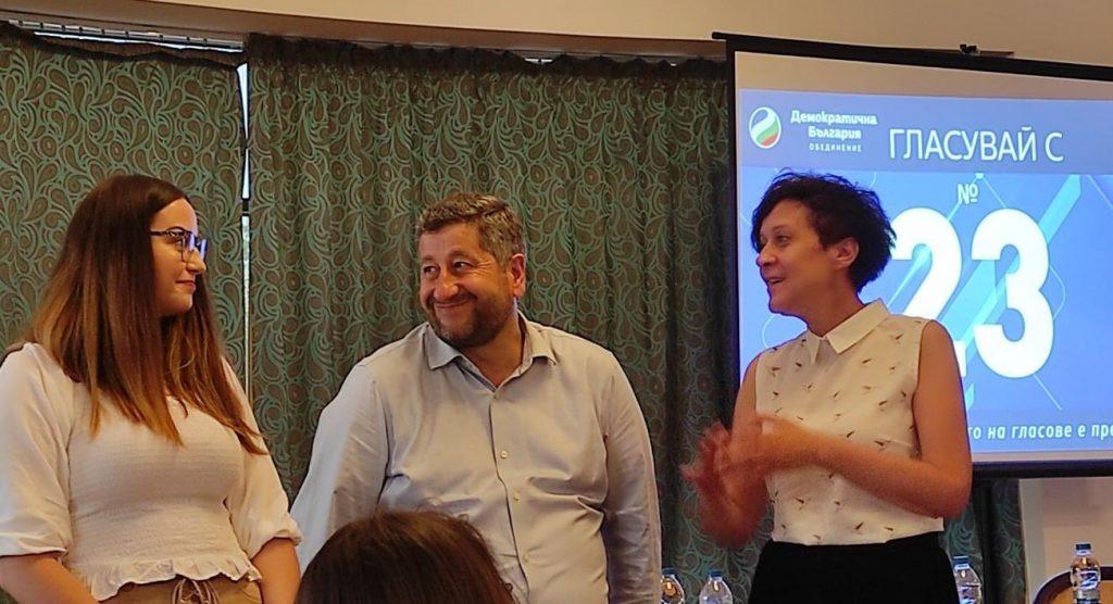 Христо Иванов в Панагюрище: Имаме цел средната заплата в България да стане 2300 лева