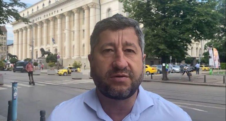Христо Иванов на живо за бълнуванията на Борисов