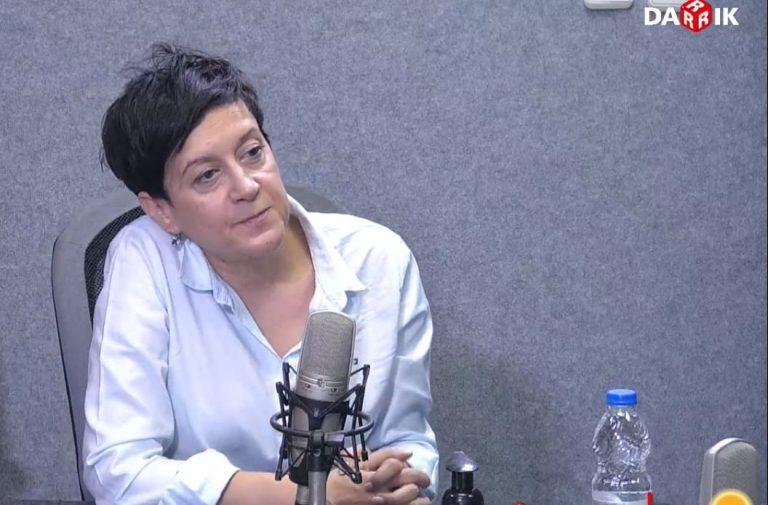 "Антоанета Цонева пред радио ""Дарик"""