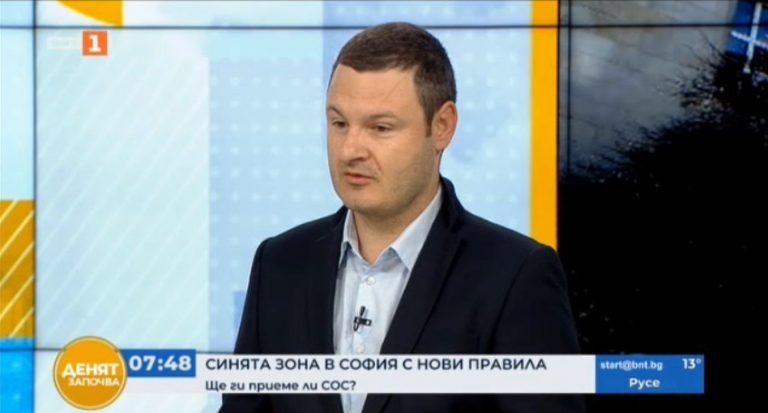 Симеон Ставрев пред БНТ