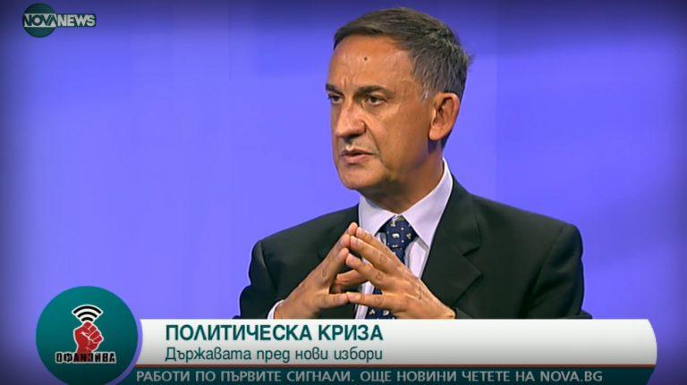 Стефан Тафров пред NovaNews